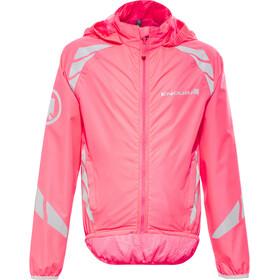 Endura Luminite II Veste Enfant, hi-viz pink/reflective